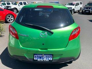 2012 Mazda 2 DE10Y2 MY12 Neo Green 5 Speed Manual Hatchback.