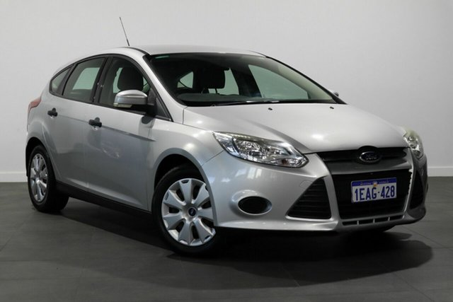 Used Ford Focus LW Ambiente PwrShift Bayswater, 2012 Ford Focus LW Ambiente PwrShift Silver 6 Speed Sports Automatic Dual Clutch Hatchback