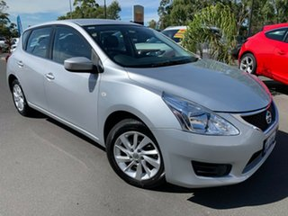 2016 Nissan Pulsar C12 Series 2 ST Silver 1 Speed Constant Variable Hatchback.