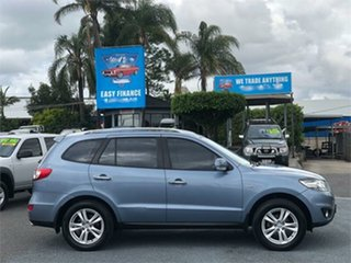 2010 Hyundai Santa Fe CM Highlander Blue 6 Speed Sports Automatic Wagon