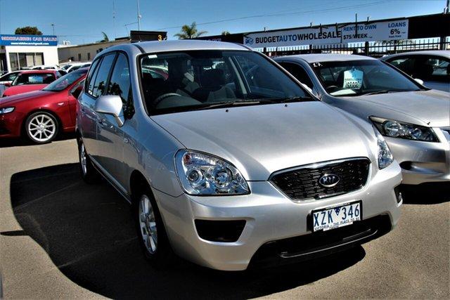 Used Kia Rondo UN MY11 SI Cheltenham, 2010 Kia Rondo UN MY11 SI Silver 4 Speed Sports Automatic Wagon