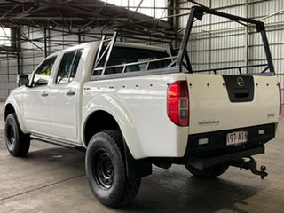 2008 Nissan Navara D40 ST-X White 6 Speed Manual Utility