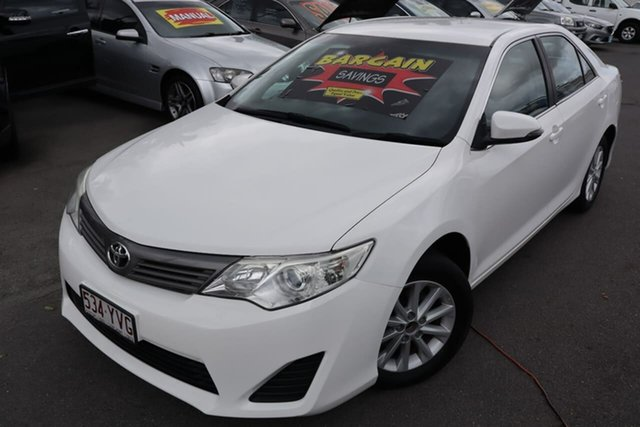 Used Toyota Camry ASV50R Altise Moorooka, 2013 Toyota Camry ASV50R Altise White 6 Speed Sports Automatic Sedan