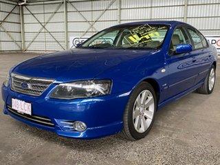 2008 Ford Fairmont BF Mk II Ghia Blue 6 Speed Sports Automatic Sedan.