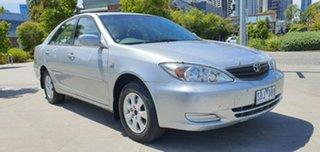 2003 Toyota Camry ACV36R Ateva Silver 4 Speed Automatic Sedan.