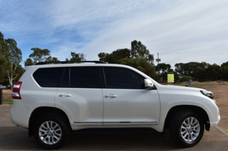 2017 Toyota Landcruiser Prado GDJ150R Altitude White 6 Speed Sports Automatic Wagon.