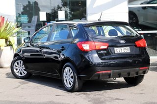 2012 Kia Cerato TD MY12 SI Black 6 Speed Manual Hatchback.