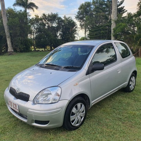 Used Toyota Echo NCP10R MY03 Alberton, 2003 Toyota Echo NCP10R MY03 Silver 5 Speed Manual Hatchback