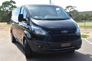 2017 Ford Transit Custom VN 340L (Low Roof) Black 6 Speed Manual Van.