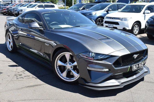 Used Ford Mustang FN 2020MY GT Essendon Fields, 2020 Ford Mustang FN 2020MY GT Magnetic 6 Speed Manual Fastback