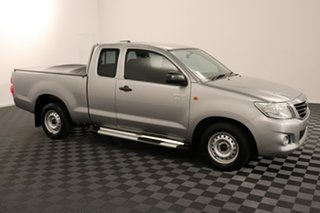 2015 Toyota Hilux GGN15R MY14 SR Xtra Cab 4x2 Silver 5 speed Automatic Utility