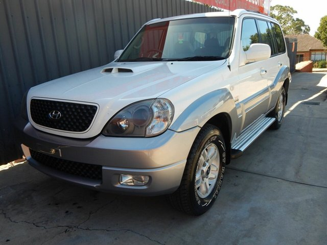 Used Hyundai Terracan HP MY05 Highlander Blair Athol, 2005 Hyundai Terracan HP MY05 Highlander White 5 Speed Manual Wagon