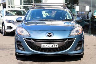 2011 Mazda 3 BL10F1 MY10 Maxx Activematic Sport Blue 5 Speed Sports Automatic Hatchback