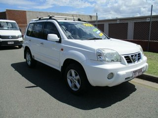 2002 Nissan X-Trail T30 TI White 5 Speed Manual Wagon.