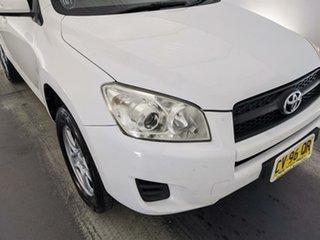 2011 Toyota RAV4 ACA38R MY12 CV 4x2 White 4 Speed Automatic Wagon.
