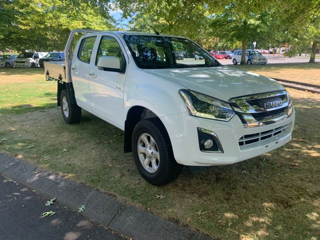 Used Isuzu D-MAX MY17 LS-M Crew Cab Launceston, 2017 Isuzu D-MAX MY17 LS-M Crew Cab White 6 Speed Sports Automatic Utility