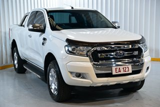 2016 Ford Ranger PX MkII XLT Super Cab White 6 Speed Manual Utility