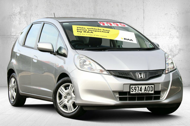 Used Honda Jazz GE MY12 GLi Valley View, 2011 Honda Jazz GE MY12 GLi Alabaster Silver 5 Speed Manual Hatchback