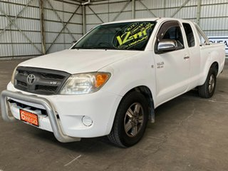 2006 Toyota Hilux GGN15R MY07 SR 4x2 White 5 Speed Automatic Utility