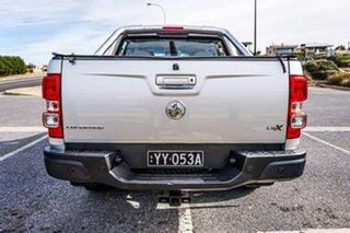 2016 Holden Colorado RG MY16 LS-X Crew Cab Silver 6 Speed Manual Utility