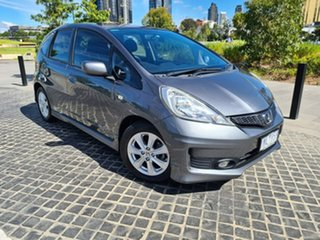 2011 Honda Jazz GE MY11 VTi Grey 5 Speed Manual Hatchback.