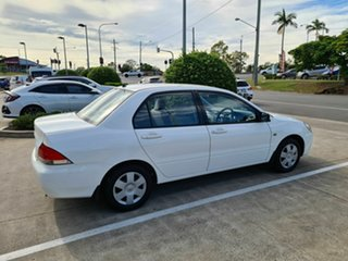2003 Mitsubishi Lancer CH ES White 4 Speed Automatic Sedan.