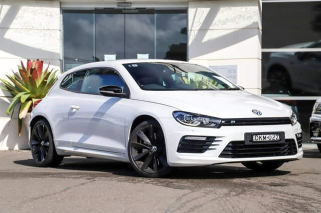 Used Volkswagen Scirocco 1S MY17 R Coupe DSG Wolfsburg Edition Sutherland, 2016 Volkswagen Scirocco 1S MY17 R Coupe DSG Wolfsburg Edition White 6 Speed
