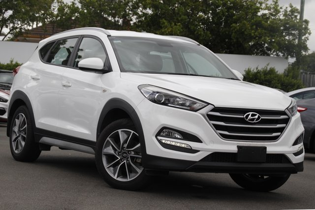 Used Hyundai Tucson TL MY17 Active X 2WD Mount Gravatt, 2017 Hyundai Tucson TL MY17 Active X 2WD White 6 Speed Sports Automatic Wagon