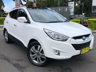 2014 Hyundai ix35 LM3 MY14 Highlander AWD White 6 Speed Sports Automatic Wagon.