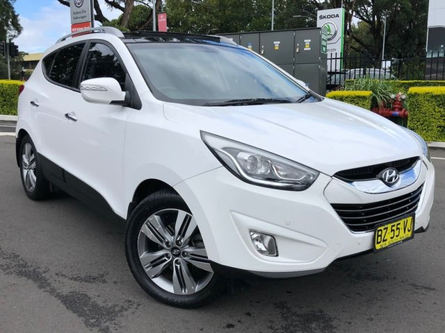Used Hyundai ix35 LM3 MY14 Highlander AWD Botany, 2014 Hyundai ix35 LM3 MY14 Highlander AWD White 6 Speed Sports Automatic Wagon
