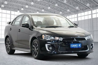 2017 Mitsubishi Lancer CF MY17 ES Sport Black 5 Speed Manual Sedan.
