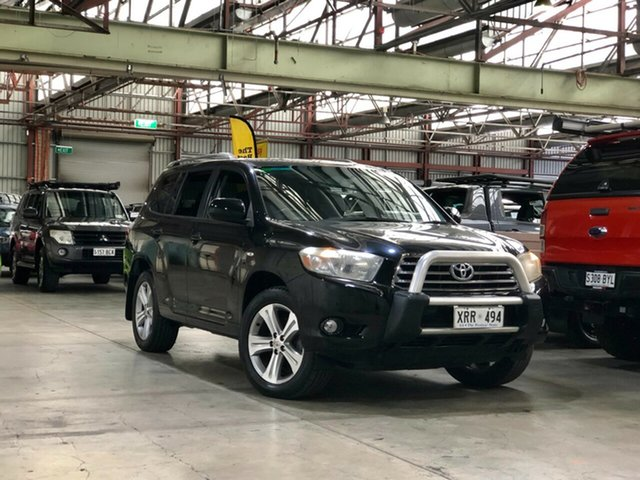Used Toyota Kluger GSU40R KX-S 2WD Mile End South, 2008 Toyota Kluger GSU40R KX-S 2WD Black 5 Speed Sports Automatic Wagon