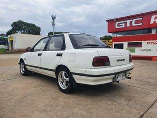 1992 Daihatsu Applause A101 Executive White 4 Speed Automatic Sedan