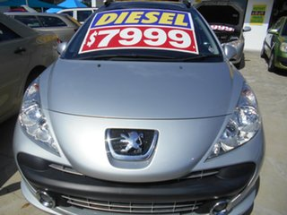 2008 Peugeot 207 A7 XT Silver 5 Speed Manual Hatchback.