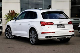 2018 Audi SQ5 FY MY18 Tiptronic Quattro White 8 Speed Sports Automatic Wagon.