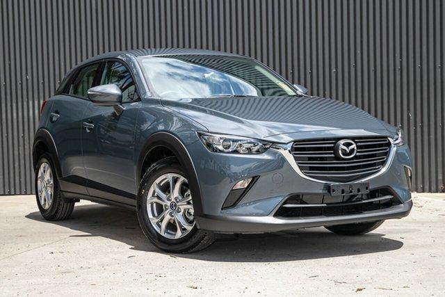 New Mazda CX-3 Mornington, 2021 Mazda CX-3 CX-3 F 6AUTO MAXX SPORT PETROL FWD Polymetal Grey Wagon
