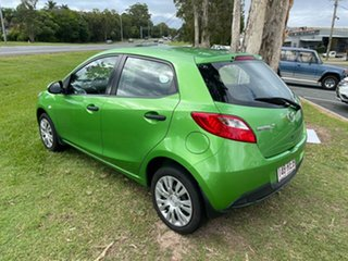 2010 Mazda 2 DE10Y1 MY10 Neo Green 5 Speed Manual Hatchback