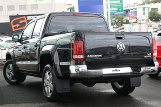 2020 Volkswagen Amarok 2H MY21 TDI550 4MOTION Perm Sportline Deep Black Pearl Effect 8 Speed.