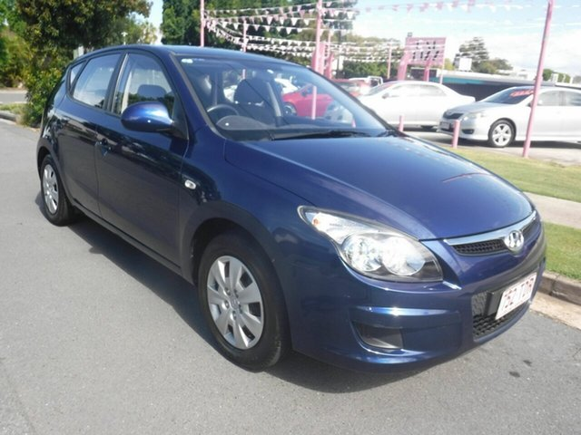Used Hyundai i30 FD SX Margate, 2012 Hyundai i30 FD SX Blue 4 Speed Automatic Hatchback