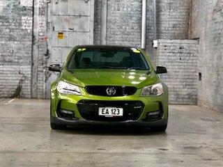 2016 Holden Commodore VF II MY16 SS V Redline Green 6 Speed Manual Sedan.