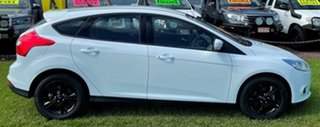 2013 Ford Focus LW MkII Trend PwrShift White 6 Speed Sports Automatic Dual Clutch Hatchback.