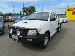2011 Toyota Hilux KUN26R MY12 SR (4x4) White 5 Speed Manual X Cab Cab Chassis.