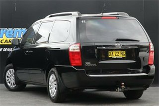 2010 Kia Grand Carnival VQ MY11 SI Black 6 Speed Sports Automatic Wagon