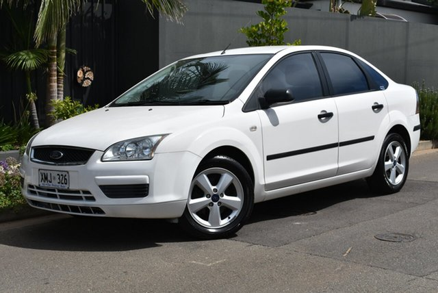 Used Ford Focus LS CL Brighton, 2006 Ford Focus LS CL White 4 Speed Sports Automatic Sedan