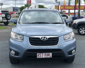 2010 Hyundai Santa Fe CM Highlander Blue 6 Speed Sports Automatic Wagon.