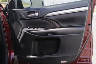 2016 Toyota Kluger GSU55R GXL (4x4) Deep Red 6 Speed Automatic Wagon