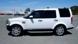 2012 Land Rover Discovery 4 Series 4 MY12 SDV6 CommandShift SE White 6 Speed Sports Automatic Wagon