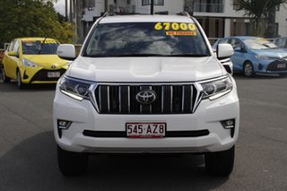 2019 Toyota Landcruiser Prado GDJ150R GXL White 6 Speed Sports Automatic Wagon
