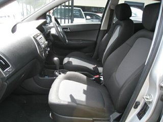 2013 Hyundai i20 PB MY12.5 Active Silver 4 Speed Automatic Hatchback