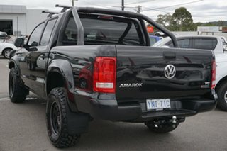 2018 Volkswagen Amarok 2H MY19 TDI550 4MOTION Perm Core Black 8 Speed Automatic Utility
